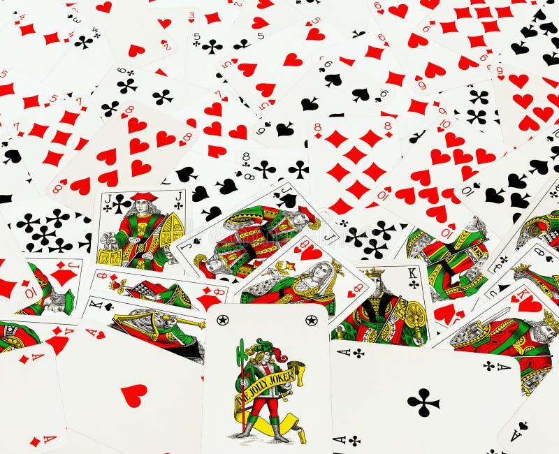 tła kart bawić się zdjęcie royalty free