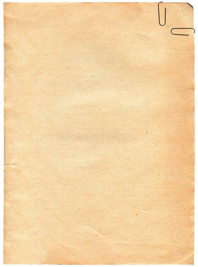 tła klamerki papieru tekstura rocznik zdjęcia stock