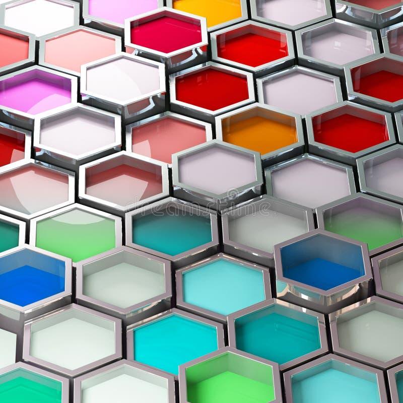 tła koloru farba ilustracji