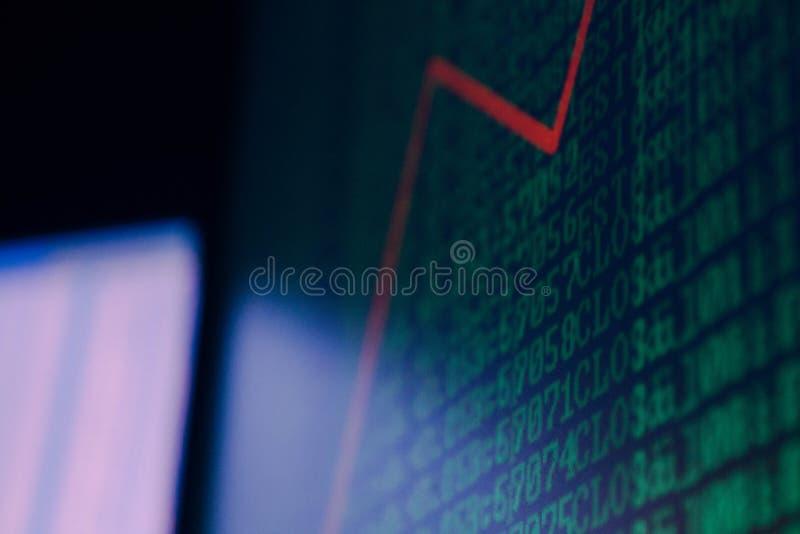 tła komputerowego pokazu odizolowywający monitor nad biel fotografia royalty free