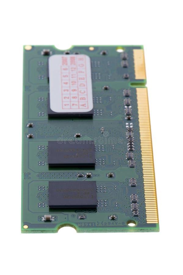 tła komputerowy makro- pamięci biel obrazy royalty free