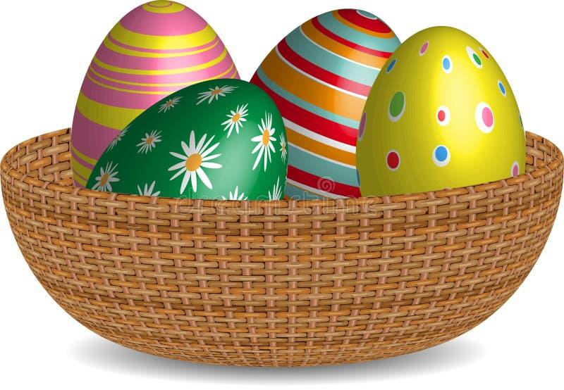 tła koszykowy Easter astronautyczny tekst obraz royalty free