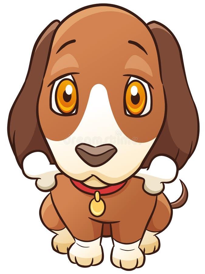 tła kreskówki projekta psa ilustracja royalty ilustracja