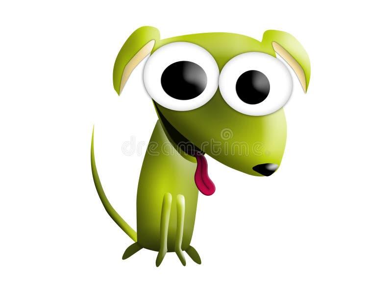tła kreskówki projekta psa ilustracja zdjęcia stock