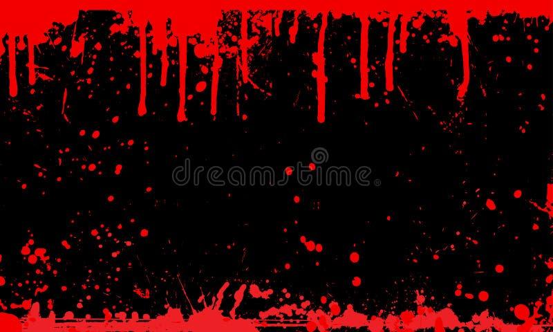tła krwi splat ilustracja wektor