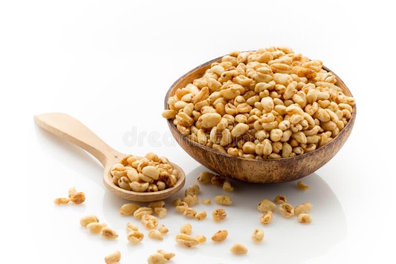 Download Tła Kukurydzanych Płatków Makro- Pracowniany Biel Zdjęcie Stock - Obraz złożonej z kukurudza, napój: 41952106