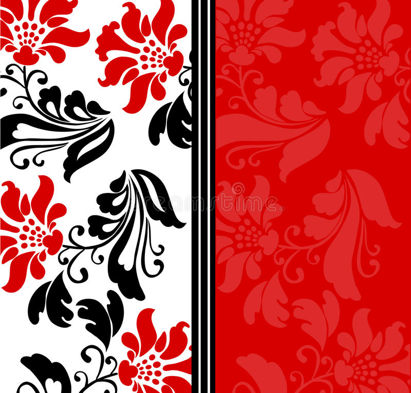 tła kwiatów wektor ilustracja wektor