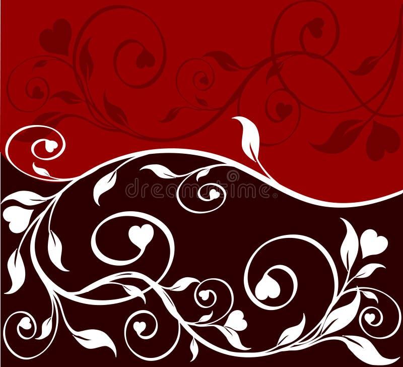 tła kwiatu ilustraci wektor ilustracji