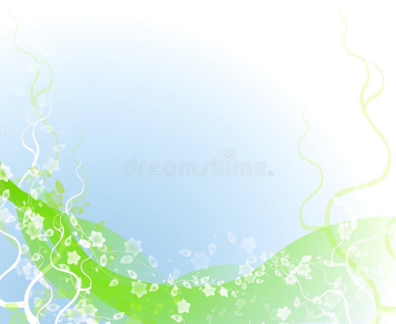 tła kwiecisty dekoracyjny ilustracji