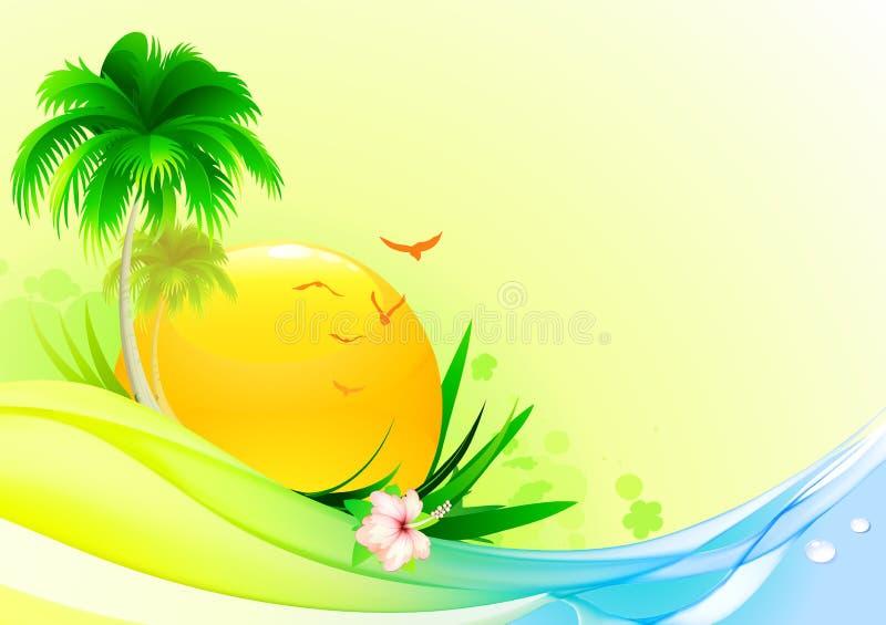 tła lato ilustracja wektor