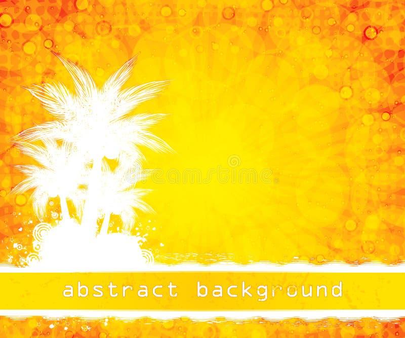 tła lato kolor żółty ilustracja wektor