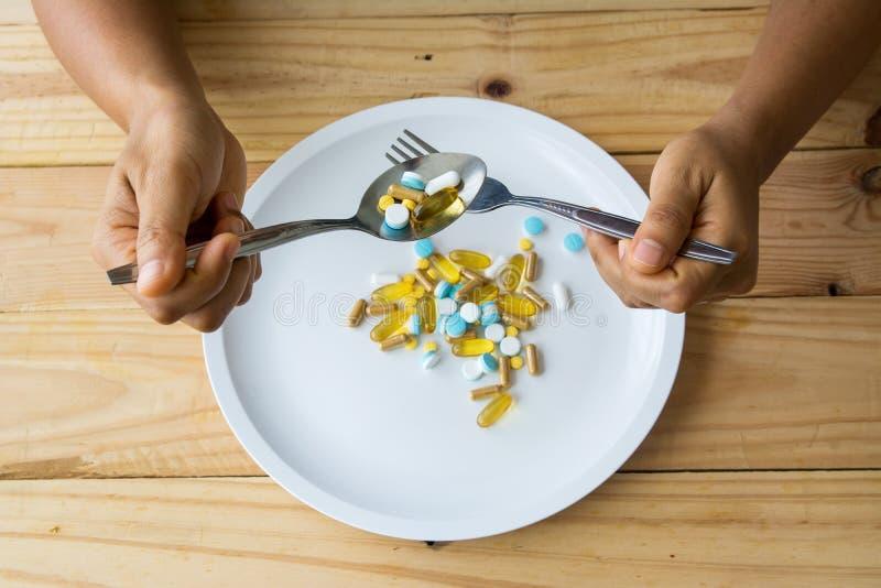 tła lekarstw medycyny apteki ustaleni narzędzia obrazy royalty free