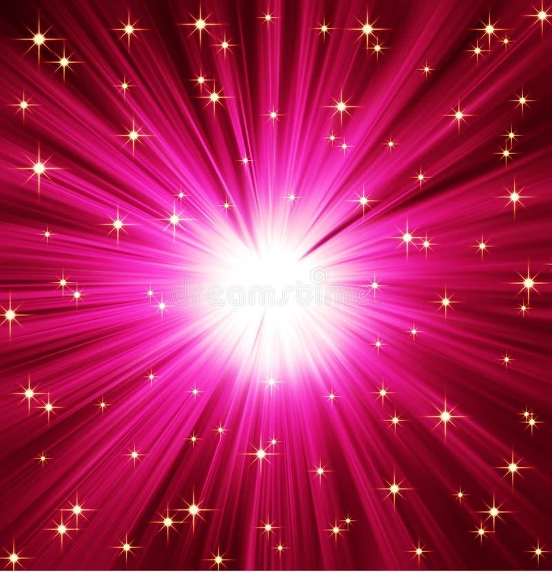 tła lekkie promieni gwiazdy royalty ilustracja