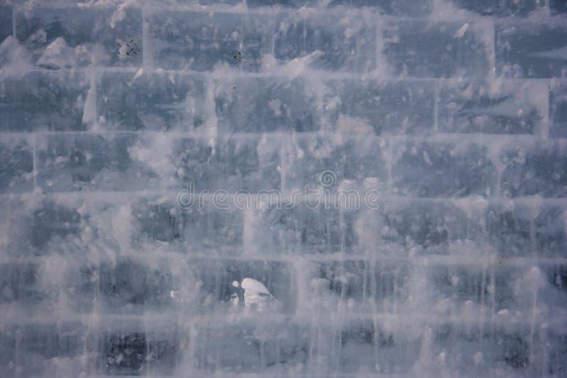 tła lodu tekstury ściana fotografia stock