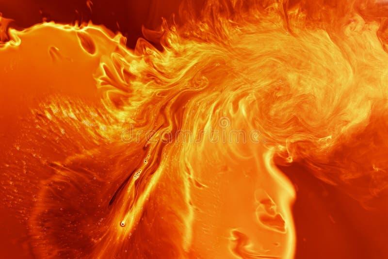 tła magiczny ognisty ilustracji