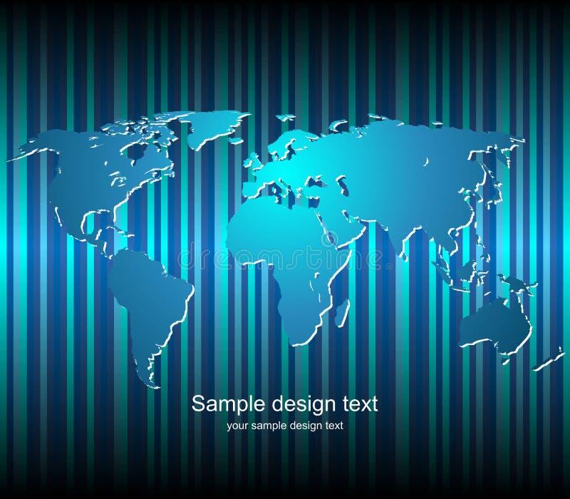 tła mapy świat