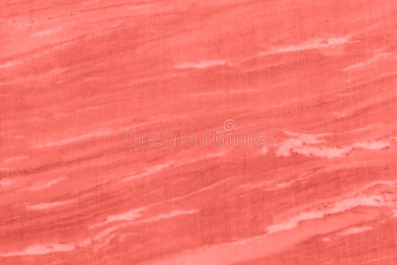 tła marmuru tekstury nagrobek Koralowy koloru pojęcie rok 2019 zdjęcie royalty free