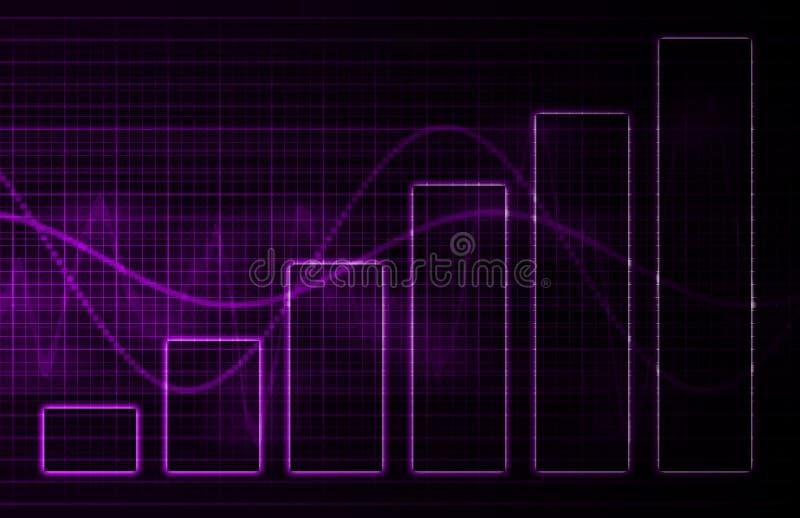 tła medyczna purpurowa nauki technologia ilustracja wektor