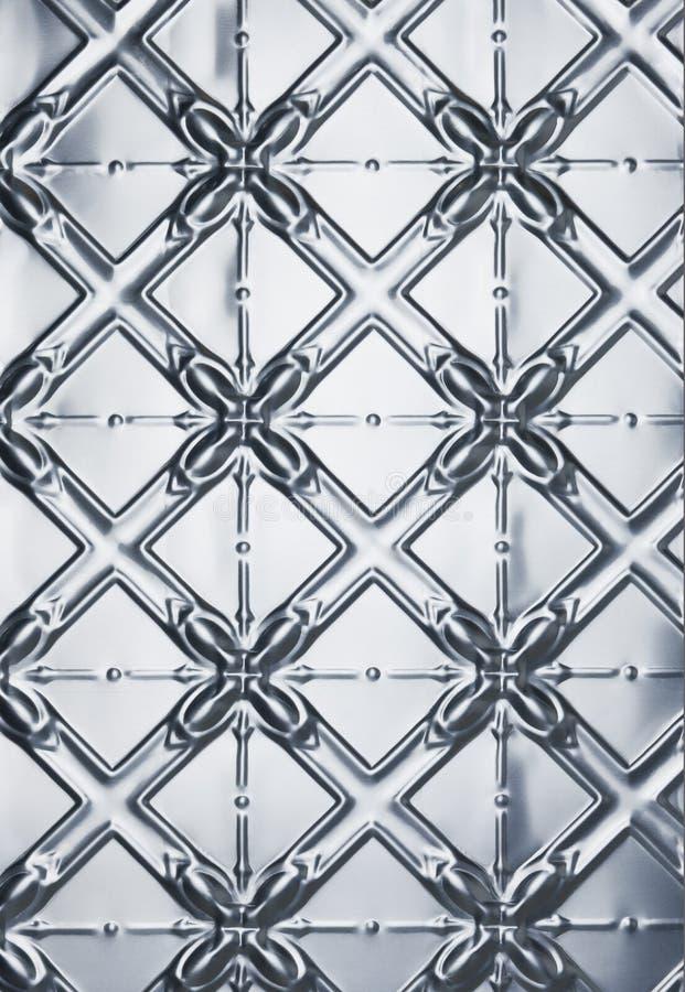 tła metalu wzoru cyna zdjęcie stock
