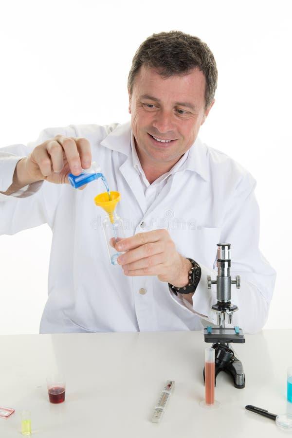 tła odosobniony laborancki naukowa biel działanie Parawanowy wizerunek molekuła obraz royalty free