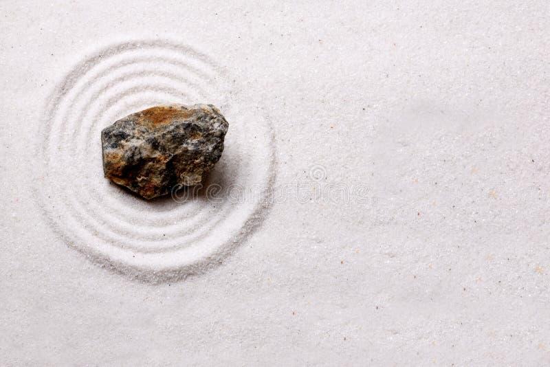 tła ogródu skały zen zdjęcie stock