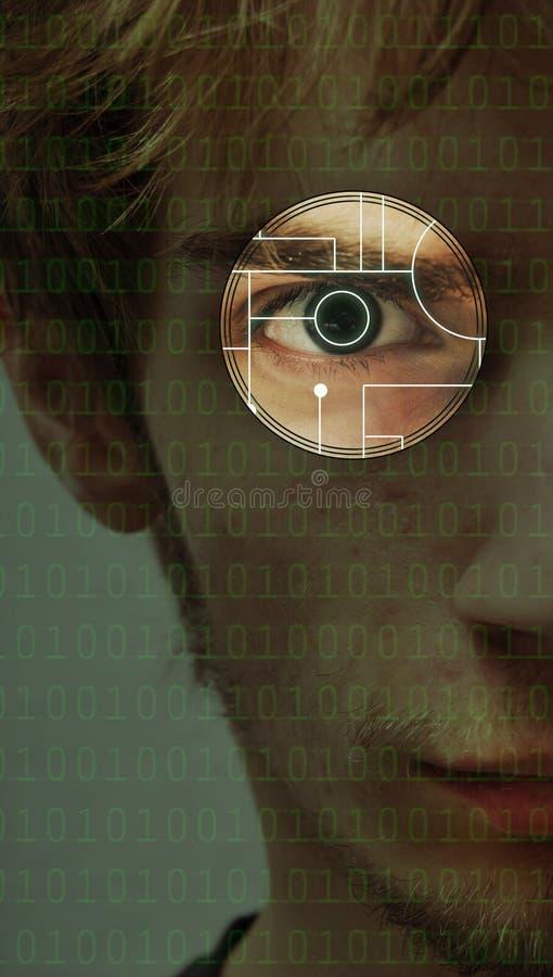 tła oka obraz cyfrowy technika royalty ilustracja