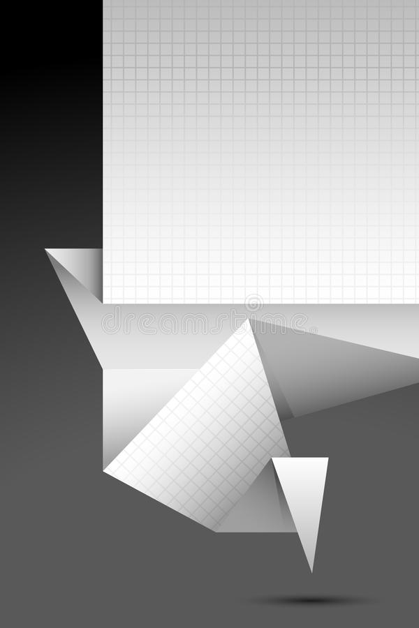 tła origami ilustracja wektor