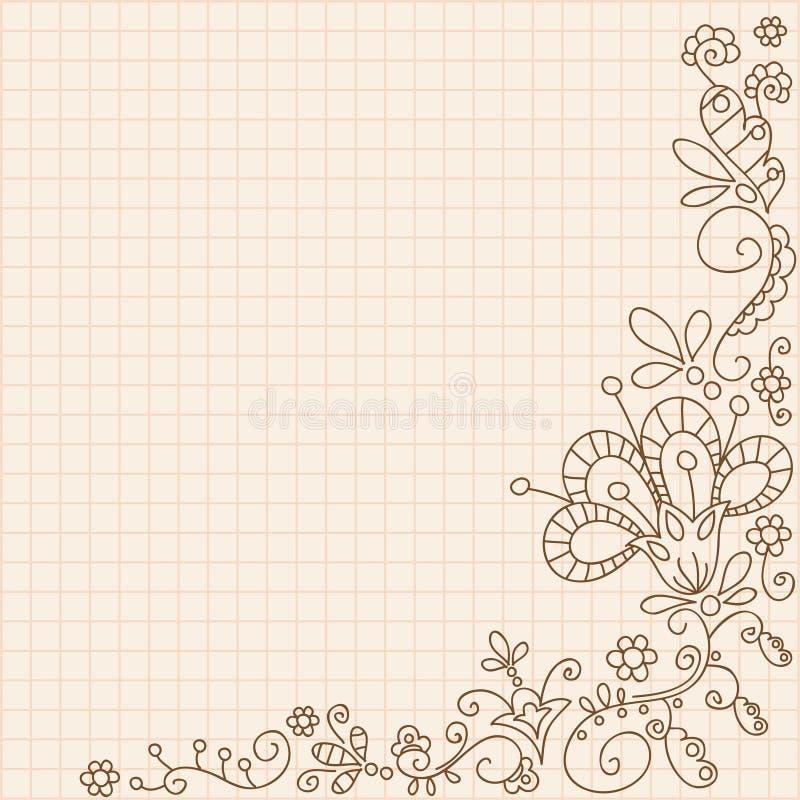 tła ornamental rocznik ilustracji