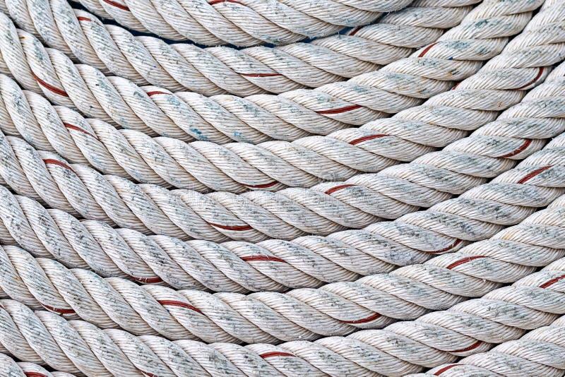 Tła półkola włókna naturalnej bazy naturalny kabel splatający część przekręcający szary morski projekt zdjęcia royalty free