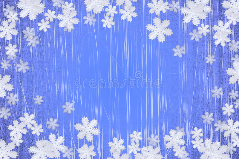 tła płatka śniegu zima obraz royalty free