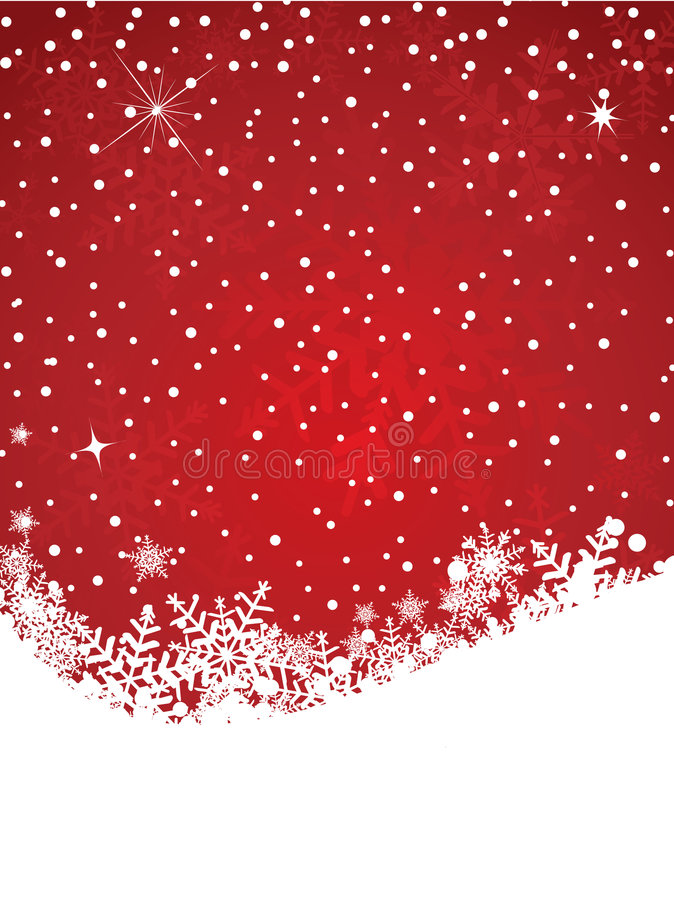 tła płatka śniegu zima ilustracja wektor