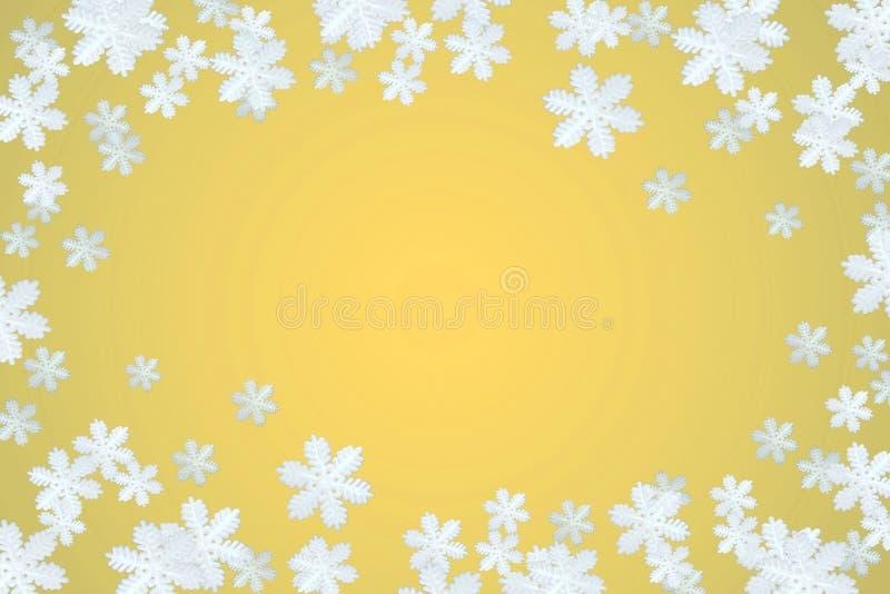tła płatka śniegu zima obrazy stock