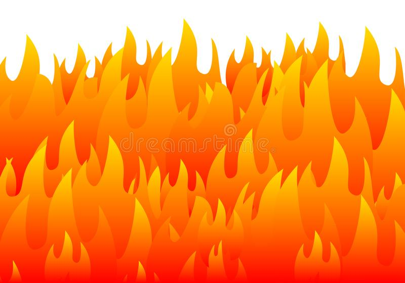 tła palenia ogienia płomień royalty ilustracja
