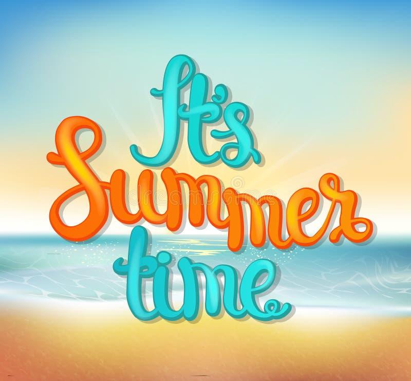 tła piłki plaży piękna pusta lato siatkówka ilustracja wektor