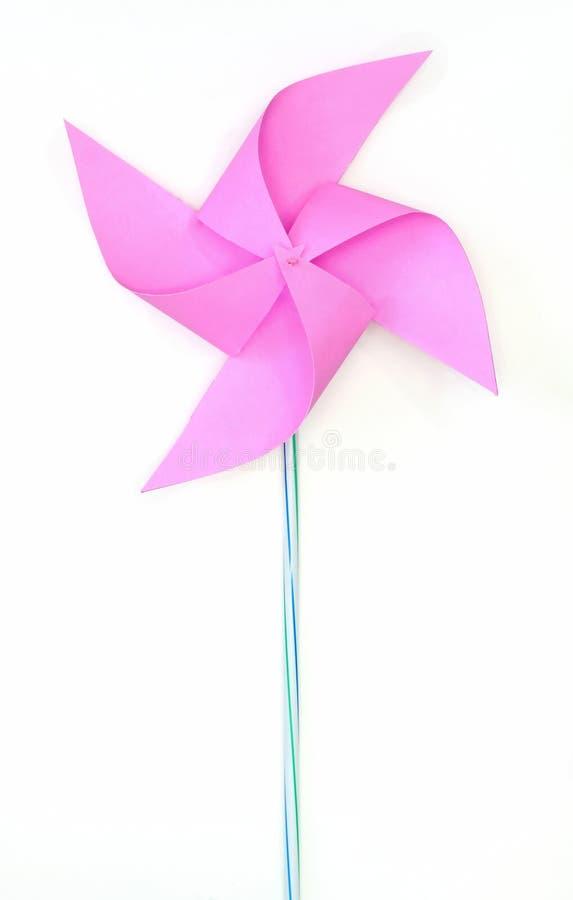 tła pinwheel zabawki biel obrazy stock