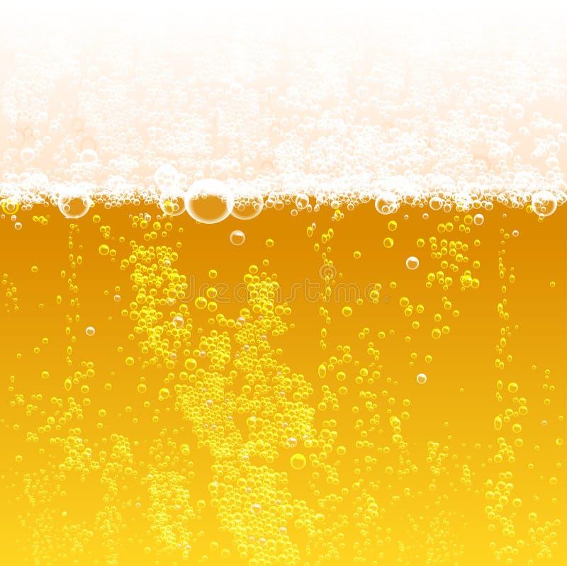 tła piwo zawiera gradientową siatkę royalty ilustracja