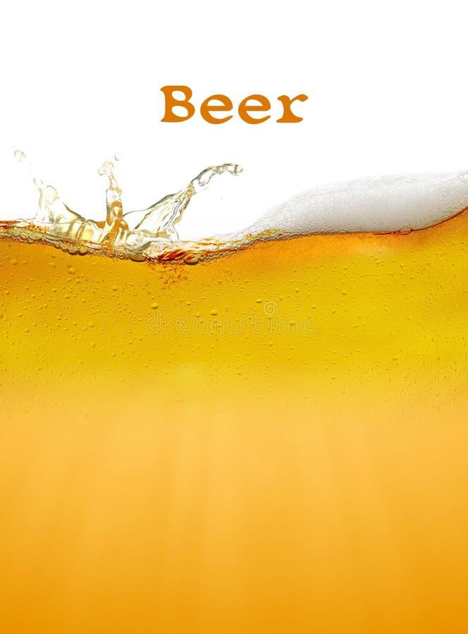 tła piwo zawiera gradientową siatkę obraz stock