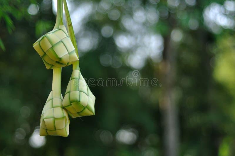 tła plamy ketupat fotografia royalty free