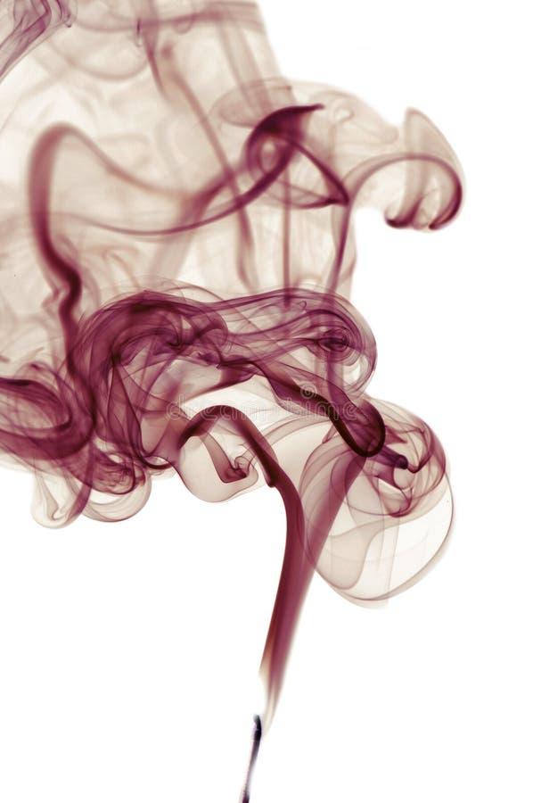 tła purpur dymu biel obraz royalty free