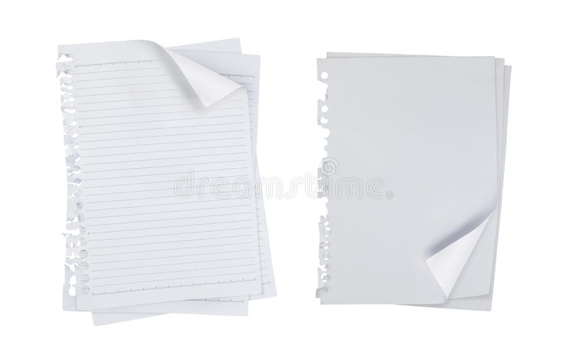 tła pustego miejsca notatka nad papierowym biel ilustracji