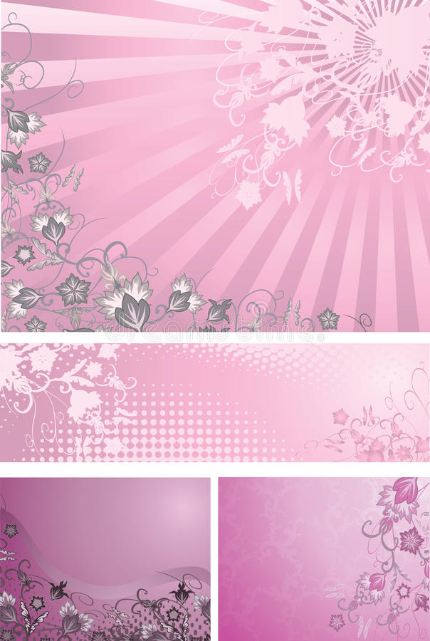 tła różowią purpury royalty ilustracja