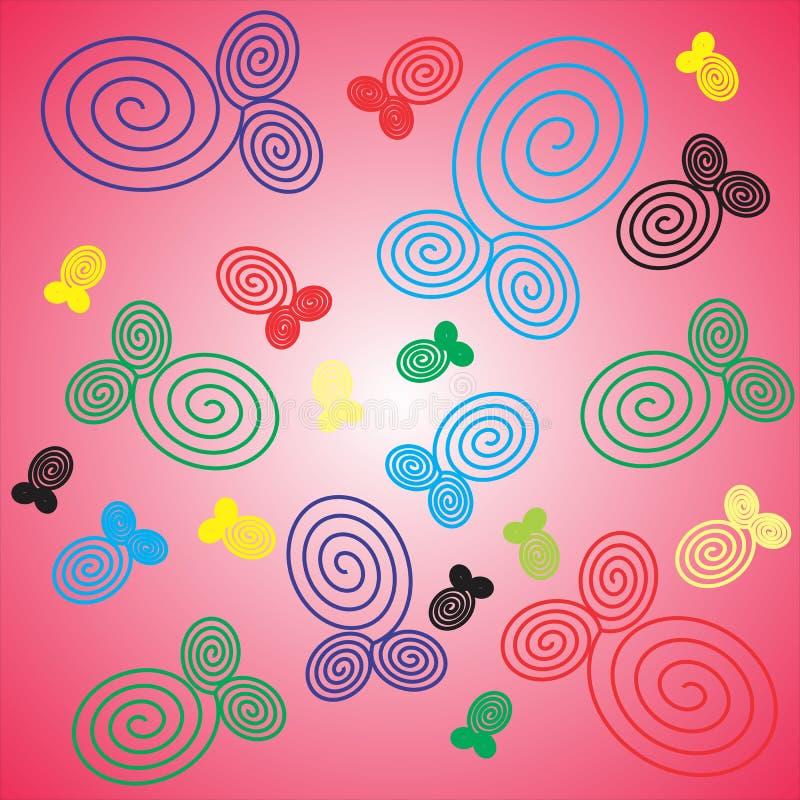 Tła różowy prosty septi obrazy royalty free