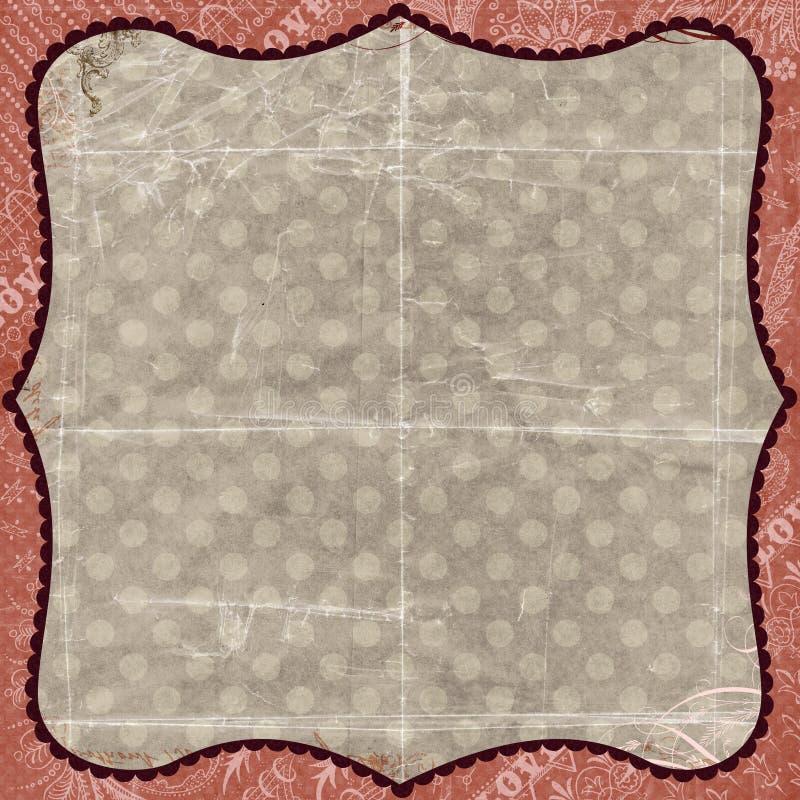 tła rabatowe kwieciste grey menchie dostrzegali ilustracja wektor