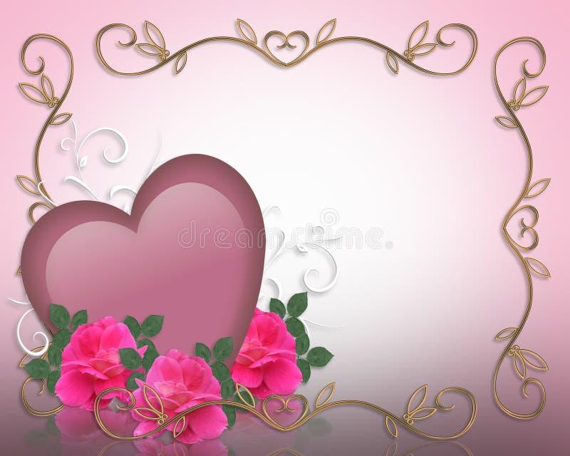 tła rabatowi dzień valentines ilustracja wektor