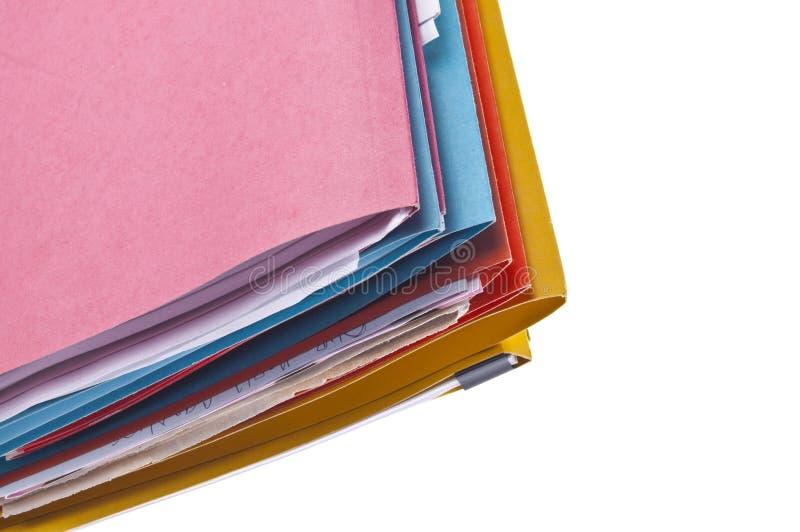 tła rabatowy kolorowy kartotek wizerunek zdjęcie stock