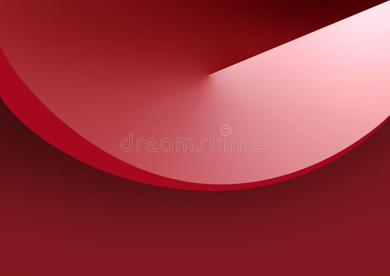 tła round gradientowy czerwony ilustracji