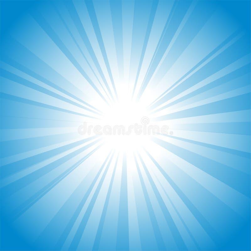 tła słońce ilustracja wektor