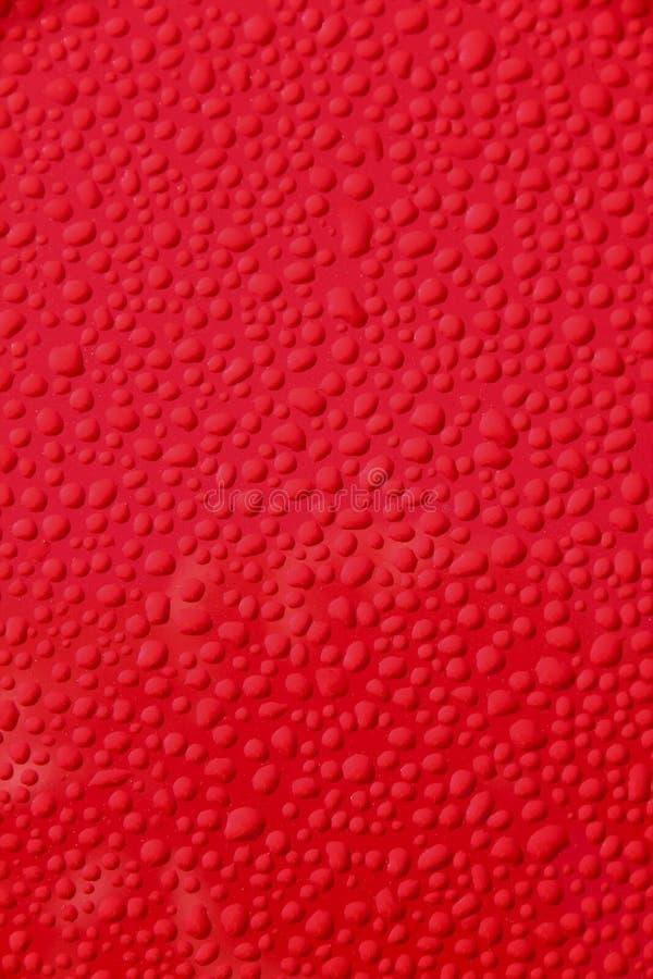 tła samochodowych kropelek czerwona woda obraz royalty free