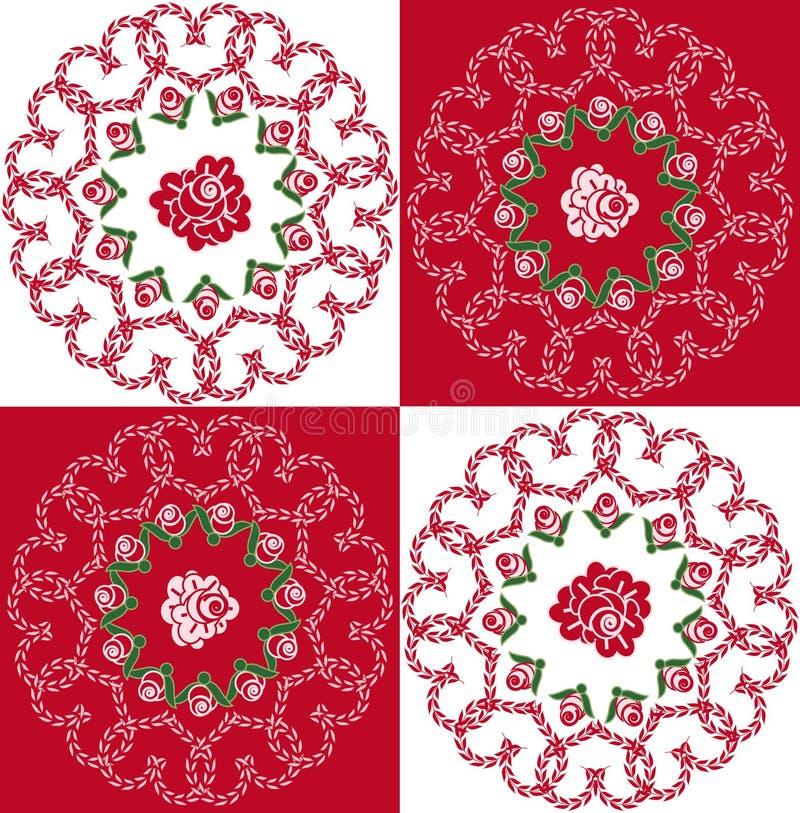 Download Tła serc róże bezszwowe ilustracja wektor. Ilustracja złożonej z miłość - 13326181