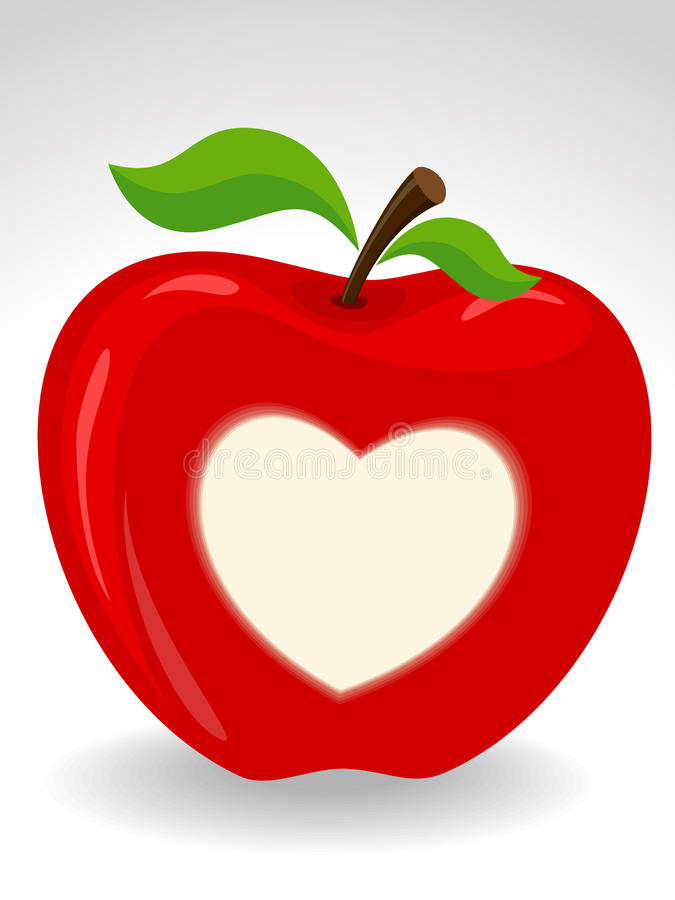 tła serca odosobniony symbol royalty ilustracja